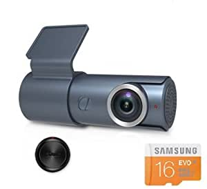 T3 compact car dashcam WiFi Full HD 1080P G-sensor Night vision SD card Included