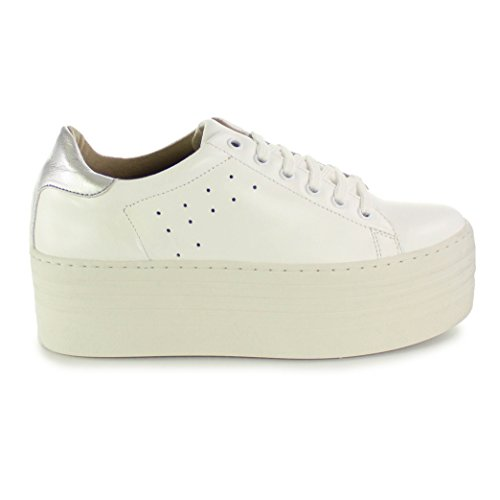 Blanc Femme VIVES Baskets Blanc Pour SHOES wqUP0IY