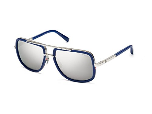 Dita Mach One Limited DRX-2030-J-BLU-SLV-59 - Sunglasses For Men Dita