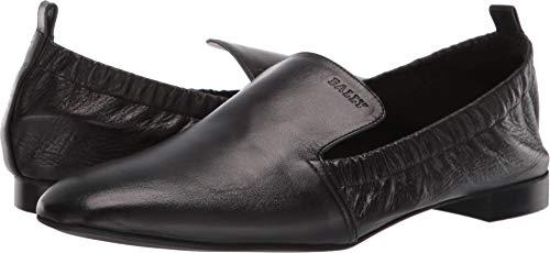 BALLY Women's Becca Travel Flat Black 7 B US - Bally Womens Shoes