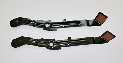 A-arms Brake (Set of 2, 184907 532184907 Brake Arm Assembly, also called Blade Brake. For Craftsman, Poulan, Wizard, Husqvarna 42