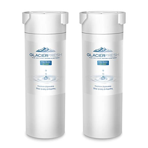 (GLACIER FRESH XWF Replacement For GE XWF Refrigerator Water Filter 2-Pack)