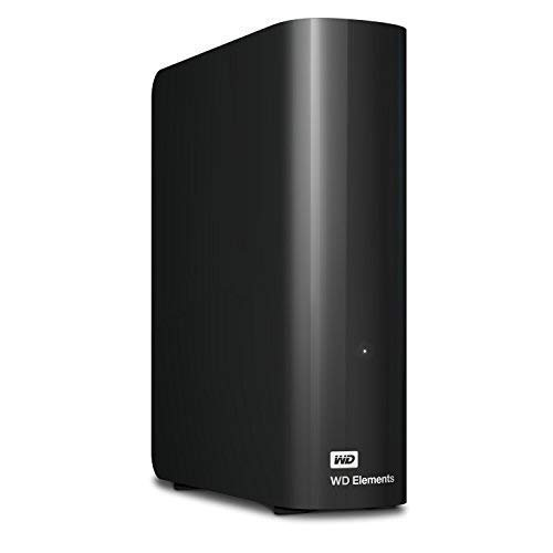 Western Digital 8TB Elements Desktop Hard Drive - USB 3.0 - - Sata Rates Transfer Data