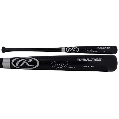 Signed Big Stick Bat - Cal Ripken Jr. Baltimore Orioles Autographed Big Stick Black Bat with