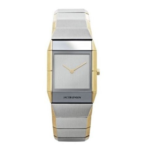 Jacob Jensen 563 Ladies Sapphire Two Tone Watch