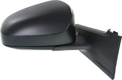 Kool Vue Manual Mirror For 2012-2014 Toyota Yaris Left Textured Black Folding