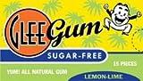 Glee Gum Sugar-Free Lemon-Lime, 1-Ounce (Pack of 12) (Value Bulk Multi-pack)
