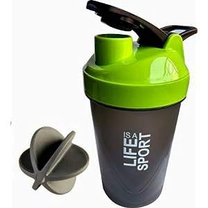 S.Blaze Amazing Multicolour 500ml Bottle/Shaker Bottle/Protein Shaker/Sipper/Gym Bottle/Water Bottle Shaker Bottle for…