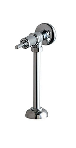 Chicago Faucets 732-OHCP Angle Urinal Metering Fitting, Chrome by Chicago -