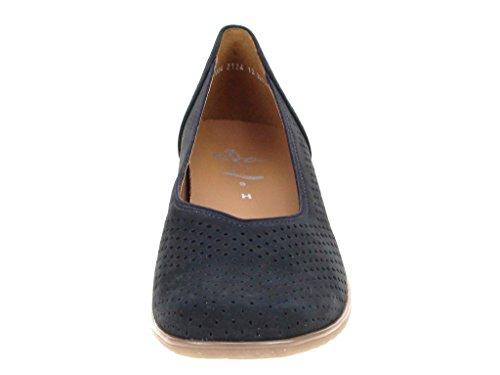 ara 12-32704-02 - Bailarinas de Piel para mujer Azul