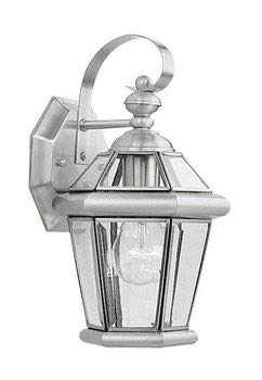 Livex Lighting 5018-91 Williamsburg 2-Light Wall Sconce, Brushed Nickel