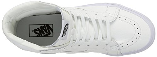 VansSk8-hi Reissue - Zapatillas de Deporte Unisex adulto Blanco (Premium Leather/True White)