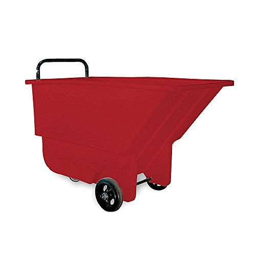 Bayhead-Haul-All-Tilt-Trucks-26Wx48Dx30H-275-Lb-Capacity-Red