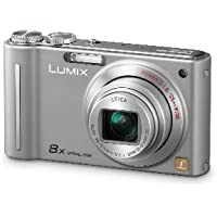 Panasonic Lumix DMC-ZR1 12.1MP Digital Camera with 8x POWER Optical Image Stabilized Zoom and 2.7 inch LCD (Silver) At A Glance Review Image