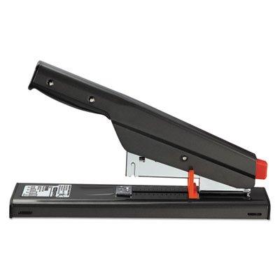 Antimicrobial 130-Sheet Heavy-Duty Stapler, 130-Sheet Capacity, Black, Sold as 1 Each