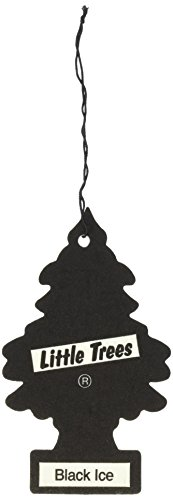Little Trees Car Air Fresheners Black Ice Scent (24 - Tree Ice