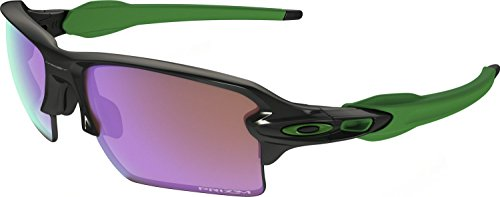 Oakley Men's Flak 2.0 Xl Non-Polarized Iridium Rectangular Sunglasses, Polished Black w/Prizm Golf, 59 - 2.0 Oakley Xl Sunglasses Flak