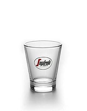 Segafredo Caffeino cristal - Set de 4 tazas de espresso 3.5oz: Amazon.es: Hogar