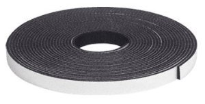 CRL 3/16'' x 1/2'' Dor-Tite Sponge Rubber Strip - D3450 by CRL