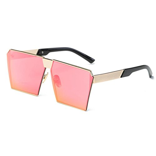VENMO Hombres Exterior C Gafas sol Mujeres de Aviator Rectángulo Para Lente Espejo de Moda rqwr71pf
