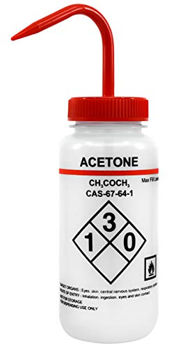 500ml Capacity Labelled Bottle Acetone product image