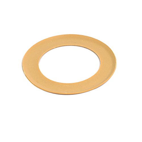 uxcell 74.2mmx48mmx0.9mm Air Compressor Compression Piston Ring Yellow by uxcell