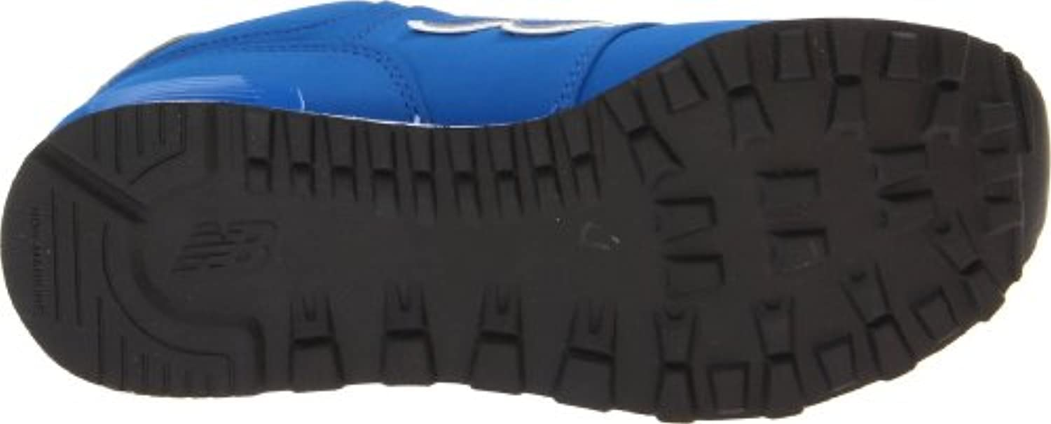 New Balance - Boys HIgh Roller 574 Grade School Classic Shoes, UK: 5 UK Youth, Royal Blue with White