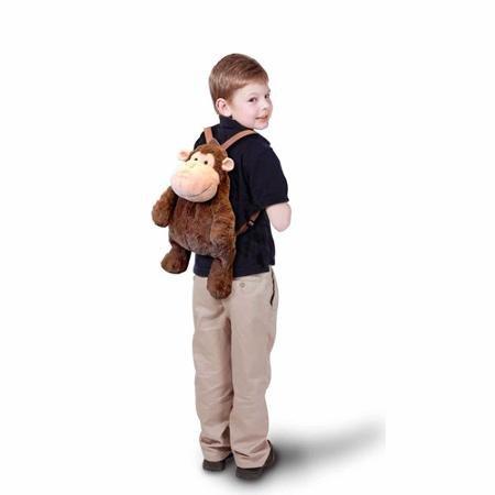 (Baby Boom Plush Monkey Backpack)