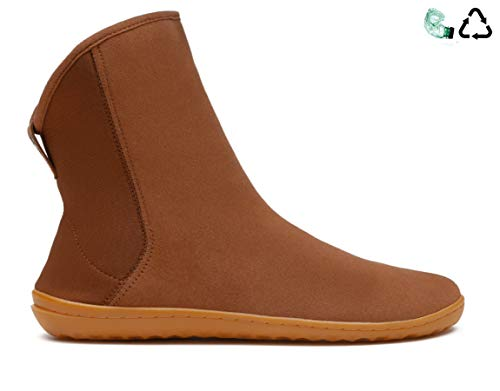 vivobarefoot Sharpei, Womens Casual Flat Winter Boot, Made from eco-Suede for Everyday wear
