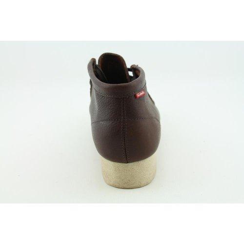 Clarks Padmore Stövlar Fotled Skor Brun Oile Storlek 12m Brunt Läder
