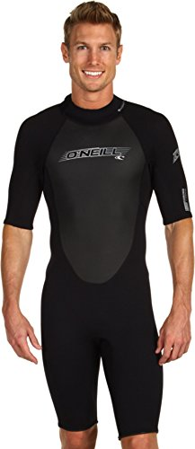 O'Neill Wetsuits Mens 2mm Reactor Spring Suit, Black, - Mens Wet Suits