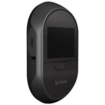 Brinno Front Door Peephole Security Camera  Motion Detection   Knocking  Sensor  Easy To Install