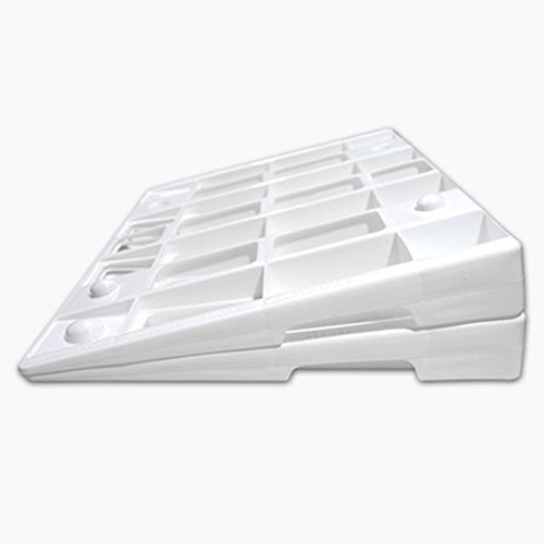 (The Wellness Wedge Your Mattress Elevation Solution; Two pack of plastic wedges)