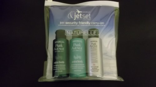 Naturelle Park Avenue Volumizing Jet Set Travel Size Trio