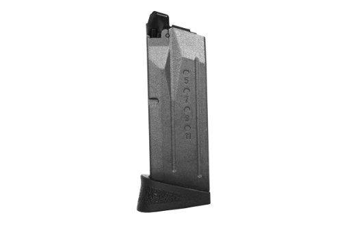 (VFC Smith & Wesson M&P9C Airsoft Gas Blowback Pistol Magazine, 15 Rds)