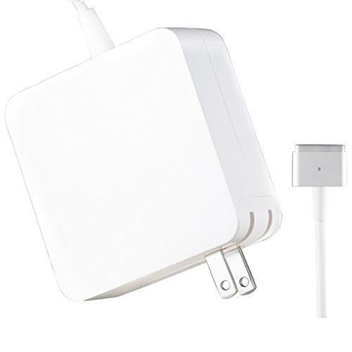 Macbook Pro Charger - HonTaseng 60W Replacement Magsafe 2 Power Adapter Magnetic T-Tip for Apple Macbook Pro 13-inch Retina display-After Late 2012 (T-Tip)