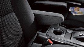 Genuine Toyota (08471-35820-B0) Passenger Armrest - Black