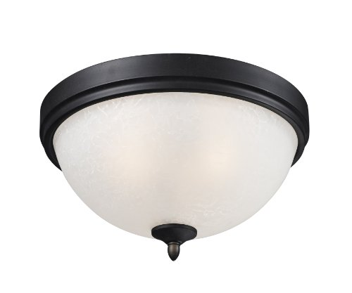 Z-Lite 603F2 Two Light Flush Mount by Z-Lite