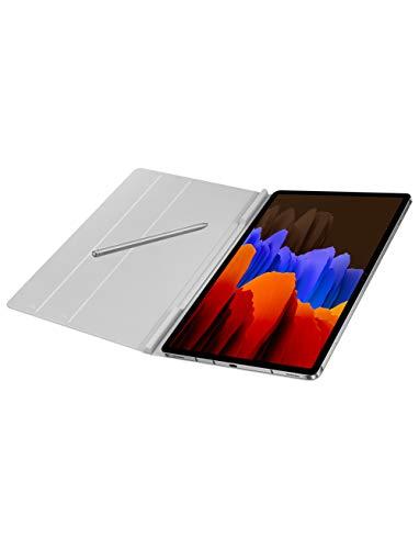 Samsung Galaxy Tab S7 Book Cover (Mystic Silver)