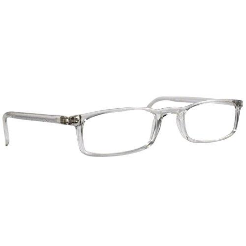 Reading Glasses Nannini Optics Vision Care Italian Fashion Readers - Crystal 2.5