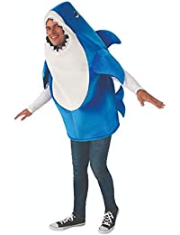 Baby Shark Daddy Shark Adult Costume with Sound Chip