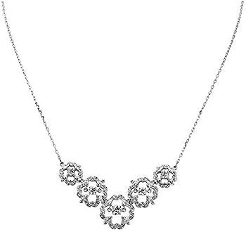 Swarovski Sparkling Dance Medium Flower Necklace