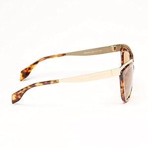 Gold Havana Cat Eye Sunglasses