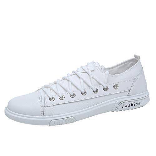 Price comparison product image Men's Boards Shoes Huazi17 Korean Edition Leisure Permeable Student Shoes White