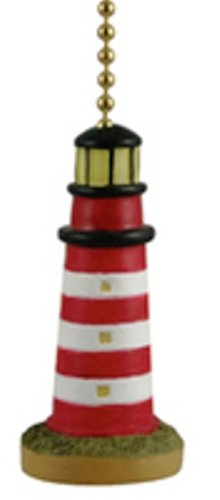 Eastern Shore Assateague Island Lighthouse Fan Light Pull by Clementine Designs