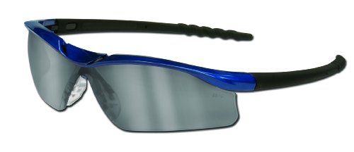 MCR Safety DL319AF Dallas Safety Glasses with Blue Metallic