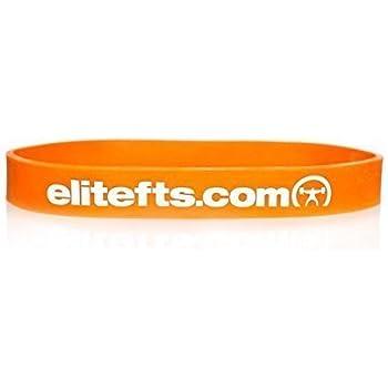 EliteFTS Pro Short Light Resistance Band - Orange - SOLD AS PAIR