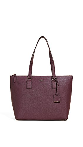 Kate Spade New York Women's Cameron Street Lucie Tote, Deep Plum, One Size by Kate Spade New York