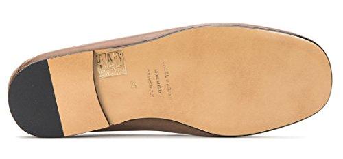 Isabel Marant Womens FERLYN Leather Flat Loafer MC0033-17A023S Beige TbuPuZqmQ