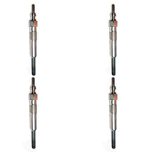 Jetta Glow Plug (Wellman Fast-Start Glow Plugs VW 1.9 1.9L TDI Diesel Jetta Golf Beetle (4 ea set))